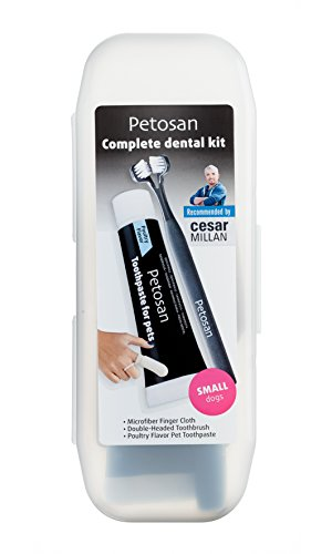 Petosan Complete Dental Kit, Small Pet Upto 14-Pound