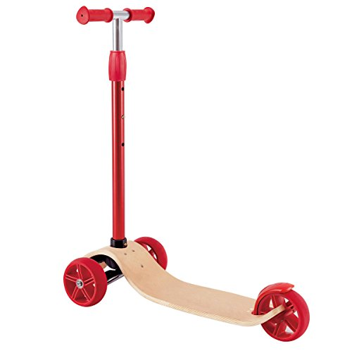 Hape Kids Street Surfer Wooden Lean to Steer Scooter Toy