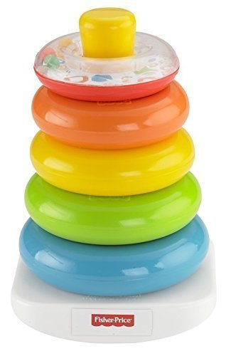 2X Fisher Price Brilliant Basics Rock A Stack By Fisher Price