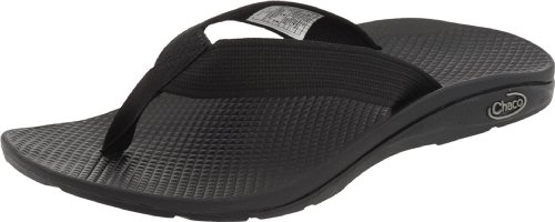 Chaco Women's Flip EcoTread Sandal,Black,9 M US