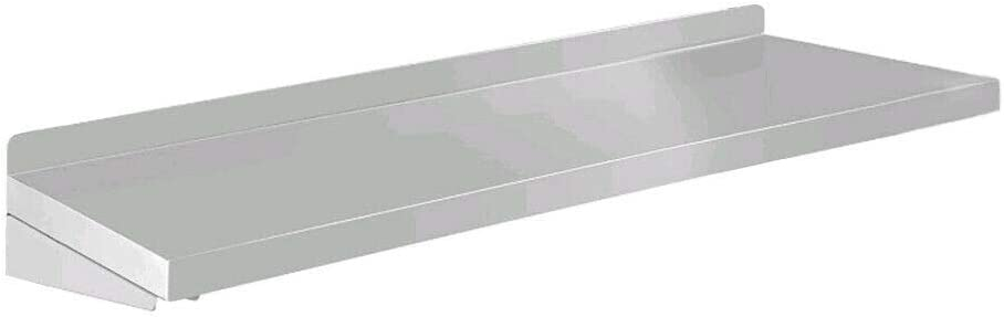 1.2 meters Serving Shelf Stainless steel wall hanging Drop-Down Serving Shelf Home/Commercial Convenient Serving Shelf Suitable for Commercial Kitchen, Food Truck