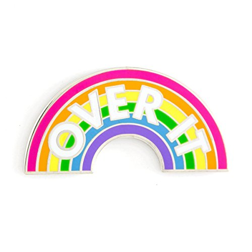 These Are Things Over It Rainbow Enamel Pin