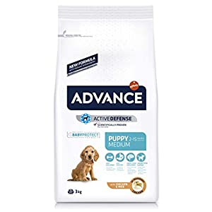 ADVANCE Medium Puppy – Pienso Para Cachorros De Razas Medianas – 3 Kg