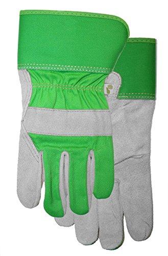 Ladies Suede Leather Palm Garden Glove with Safety Cuff, 517F6