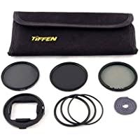 Snake River Prototyping BlurFix3+ 55mm Filter Pack for GoPro HERO3+/4, Includes BlurFix3+ 55 Adapter, 55mm CP-MC Filter, 55mm Tiffen ND0.6 Filter, 55mm Tiffen ND0.9 Filter