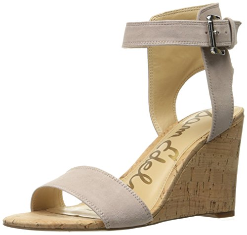 Sandal Suede Womens Edelman Rose Willow Sam Taupe Wedge qSOZxwxFI