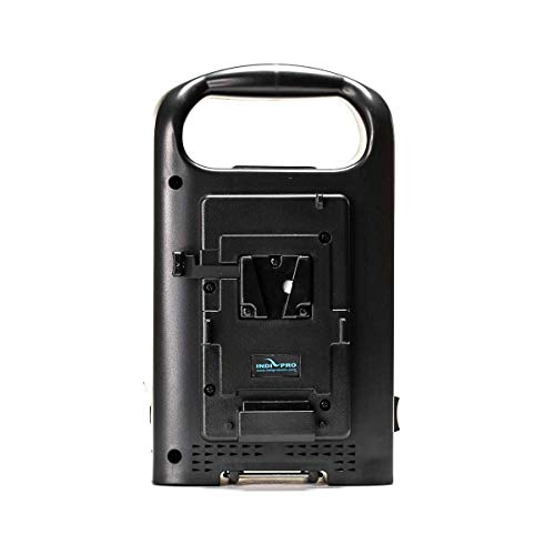 IndiPRO PD2BCH V-Mount Dual Battery Charger with XLR Output