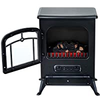 HOMCOM Freestanding Electric Fireplace H...