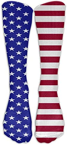 YuanHu Mode American Type Flag Langer Strumpf Lässige Crew Socken