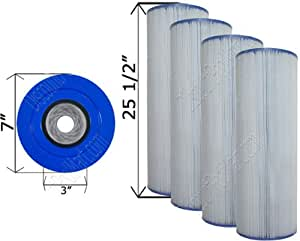 4unidades–Hayward CX870RE filtro de Quad Pack láser c-7487–4