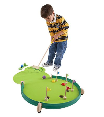 Wonder Golf Portable Adjustable Putting Green by HearthSong