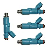 fuel injectors toyota yaris - NEW 4 PETROL FUEL INJECTOR 23250-23020 Fit Toyota Yaris Vitz 1.0 1.3 1999-2005