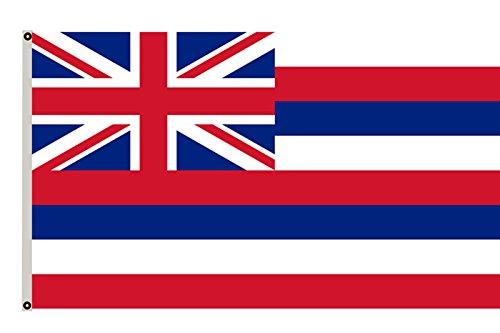 Hawaiian Flag (Fyon Hawaiian flag the State Flag of Hawaii banner 4x6ft)