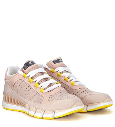 Adidas By Stella Mccartney Donna Cc Revolution W Sneakers Pearl Rose / Smc / Giallo Vivo S13 / Calzature Bianche