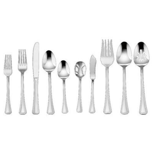 Cuisinart Jacalyn 45-Piece Set, Stainless Steel (Cuisinart Flatware compare prices)