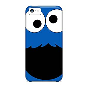 New Style Tpu 5c Protective Cases Covers/ Iphone Cases - Cookie Monster Black Friday