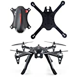 DZT1968 Durable Spare Parts Quadcopter Body Cover Shell Case Replacement for MJX B3 Bugs RC Drone Crash Pack