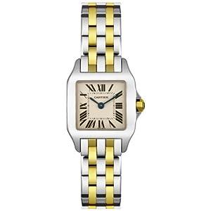 Cartier Santos Demoiselle - Reloj (Reloj de Pulsera, Femenino, Acero, Acero Inoxidable, Oro, Acero, Oro, Acero Inoxidable) 2