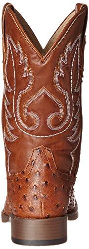 Roper Mens Basic Vierkante Teen Western Boot Tan