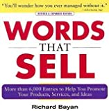 img - for Words That Sell by Richard Bayan (1984-05-03) book / textbook / text book