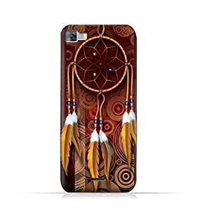 Infinix Zero 3 X552 TPU Silicone Protective Case with American Feathers Design