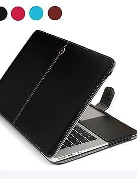 komn ordenador portátil Piel Asling PU para Apple MacBook Air 13.3 (de color a juego) - .: Amazon.es: Electrónica