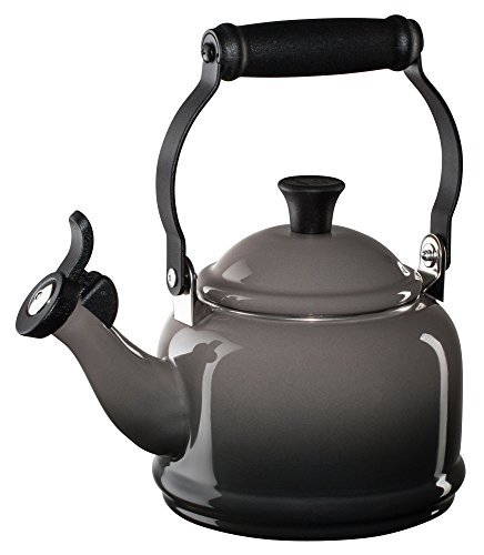 -Steel Demi 1-1/4-Quart Teakettle, Oyster (Loop Tea Kettle)