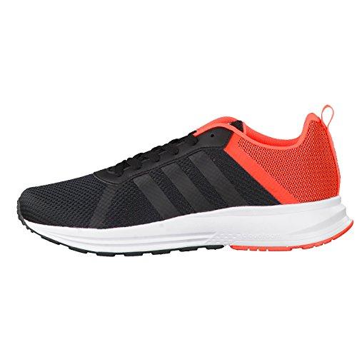 adidas CLOUDFOAM MERCURY - Zapatillas deportivas para Hombre, Negro - (NEGBAS/NEGBAS/ROJSOL) 42