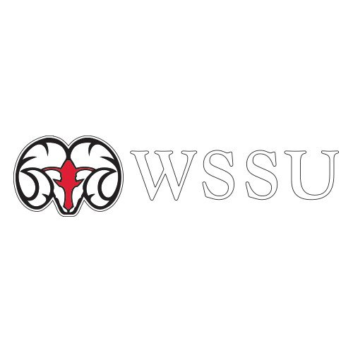 CollegeFanGear Winston Salem Extra Large Decal 'Ram WSSU' by CollegeFanGear