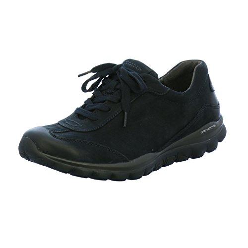 chaussures Gabor oil rollingsoft nubuk basses Bleu 36 965–46 Bleu comfort 77U6wqrnE
