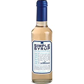 Stirrings Mixer Simple Syrup, 12 oz. - Pack of 2 7 Made with Pure Cane Sugar! Only the highest quality ingredients! No High Fructose Corn Syrup! Perfect for making cocktails, sweetening coffee/tea, and any beverage!