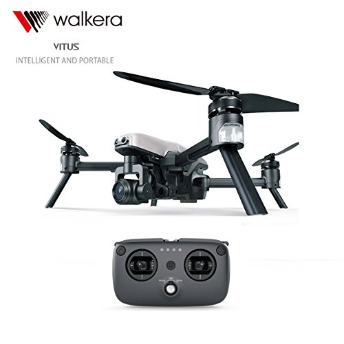 Walkera VITUS 320 Foldable Drone with 3-Axis HD 4K Camera Gimbal Obstacle Avoidance AR Games Drone by Walkera