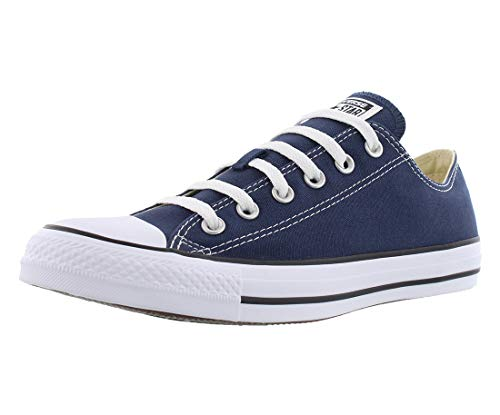Converse Unisex Chuck Taylor All Star Low Top Navy Sneakers - 8.5 B(M) US Women / 6.5 D(M) US Men -