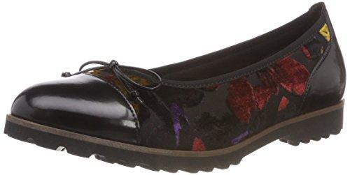 Shoes para Gabor Gabor multi cognac Bailarinas Schw Jollys 60 Mujer Negro wIddBrFq
