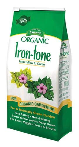 (Espoma IT5 Iron Tone Bag, 5-Pound)