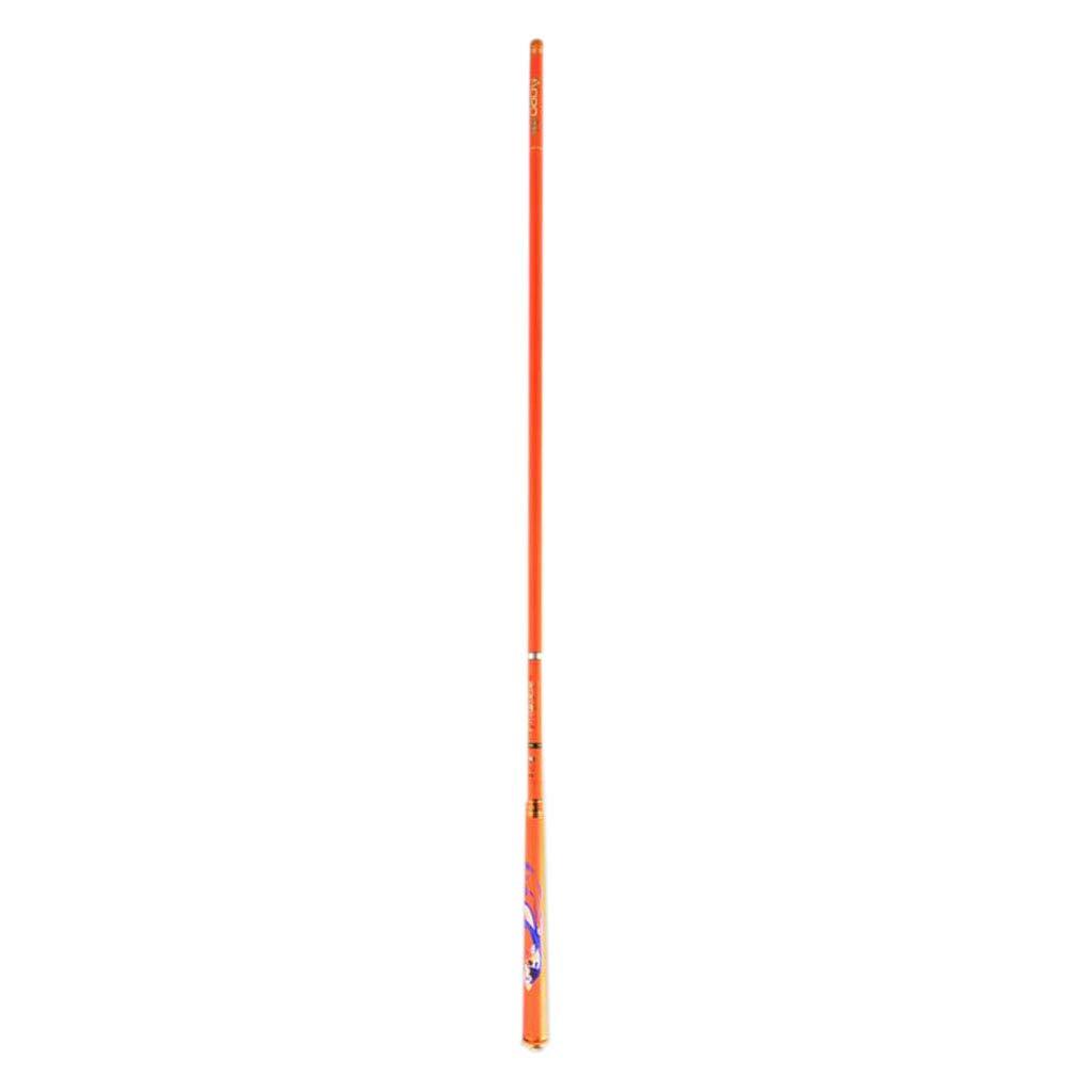 釣り竿 フィッシングセット 薄手 軽量 スピニング 伸縮自在 釣り竿 カーボンファイバー釣り竿 ポータブル 大人 子供 旅行 ボート B07KH6LH2D 6.3m