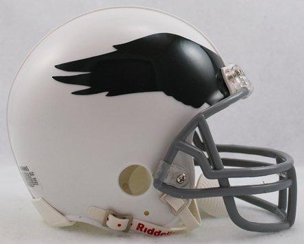 Philadelphia Eagles 69-73 Riddell VSR4 Mini Replica Football Helmet 1969 Riddell Mini Replica
