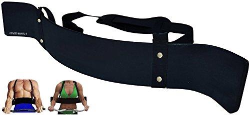 Heavy Duty Arm Blaster, Bicep Arm Blaster Biceps Isolator, Black Arm Blasters Fitness Gym For Sale