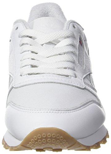 Reebok Cl Estl, Chaussures de Running Homme Blanc (White)