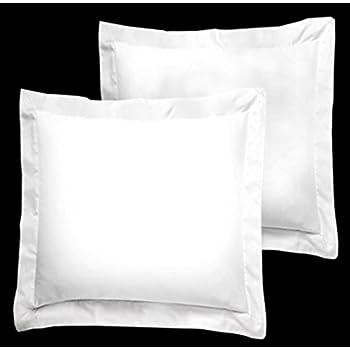amazon com fresh ideas european tailored poplin pillow sham navy