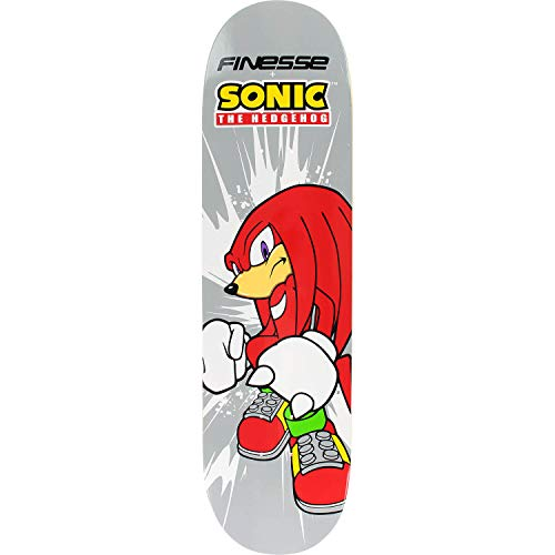 Finesse Skateboards Sega Knuckles Hedgehog Skateboard Deck - 8.25