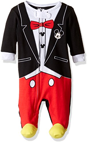 Disney Baby Boys' Mickey Mouse 1pc Sleeper