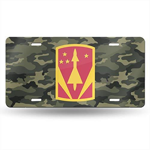 KARCARTAG 31st Air Defense Artillery Brigade Novelty License Plate Tag Sign Car Accessories