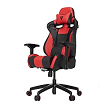 Vertagear S-Line SL4000 Racing Series Gaming Chair - Black/Red (Rev. 2)