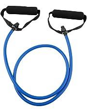 هوم فيتنس Exercise Pull Rope Resistance Elastic Equipment Yoga Gym Bands أزرق