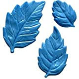 First Impressions Molds Silicone Mould - Leaves - 3 cavity