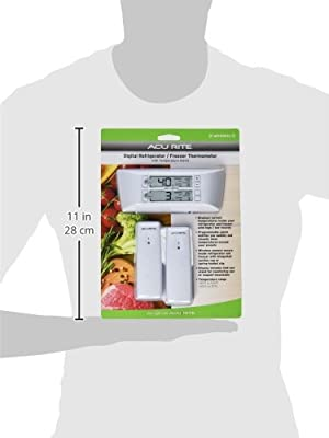 AcuRite 00986M Refrigerator/Freezer Wireless Digital Thermometer