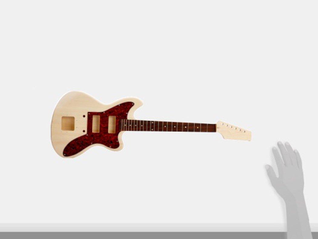 Rocktile 38312 - Kit de montaje para guitarra eléctrica estilo JAG: Amazon.es: Instrumentos musicales
