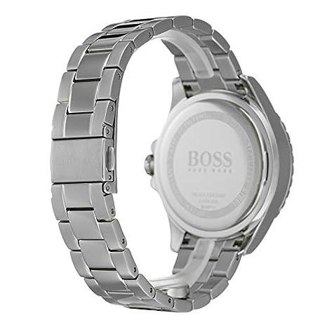 Hugo Boss Watch Reloj Multiesfera para Mujer de Cuarzo con Correa en Acero Inoxidable 1502444: Amazon.es: Relojes