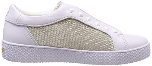 2090 Sneaker 431525625969 Metallic Donna Bugatti white Bianco Infilare S05FFWq